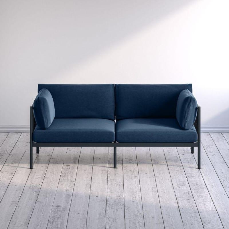 Amanda metal frame sofa