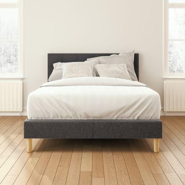 Lottie upholstered platform bed frame