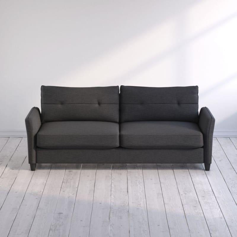 Ricardo Contemporary Sofa Dark Grey