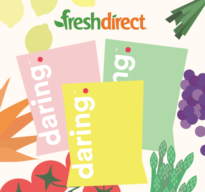 Daring at FreshDirect