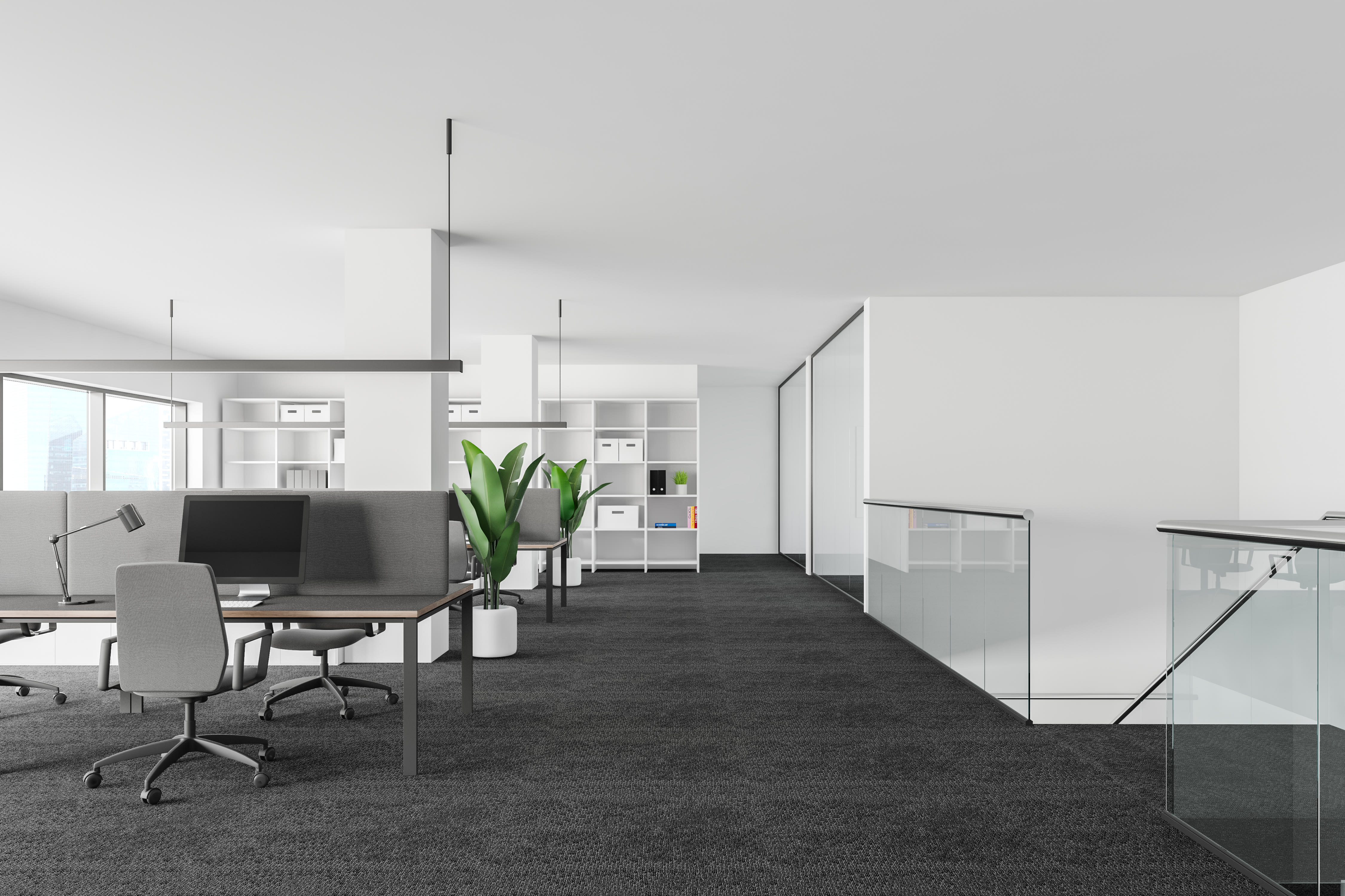 clean and modern office space