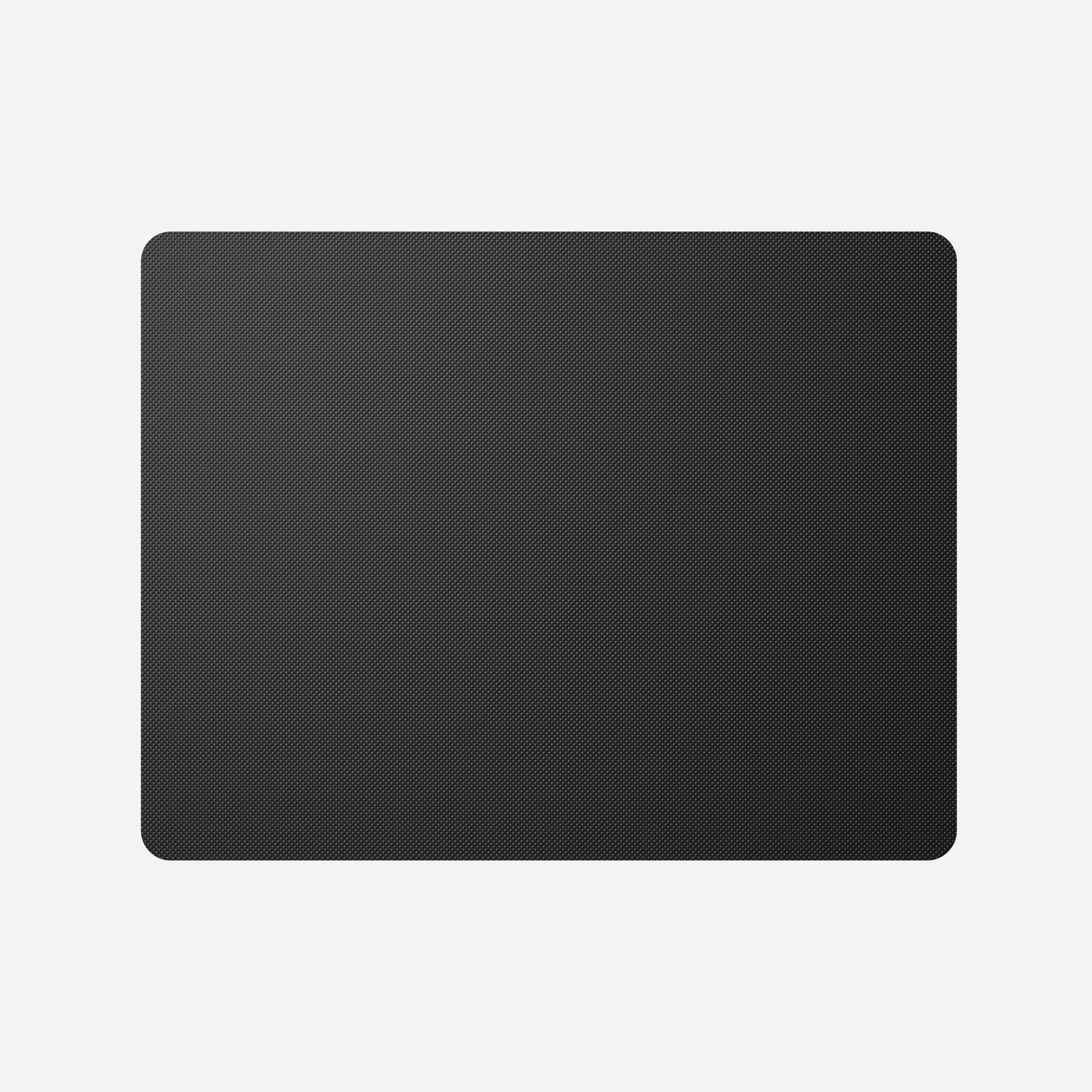 Horween Leather Mousepad Black 13-inch Back