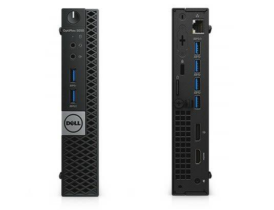 Dell OptiPlex 5050 Micro i5-7500T SSD Ultra-compact Computer