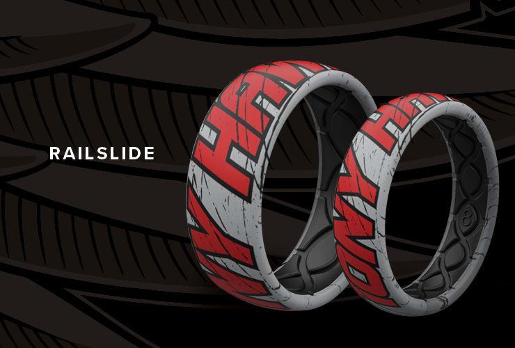 Tony Hawk Railslide rings
