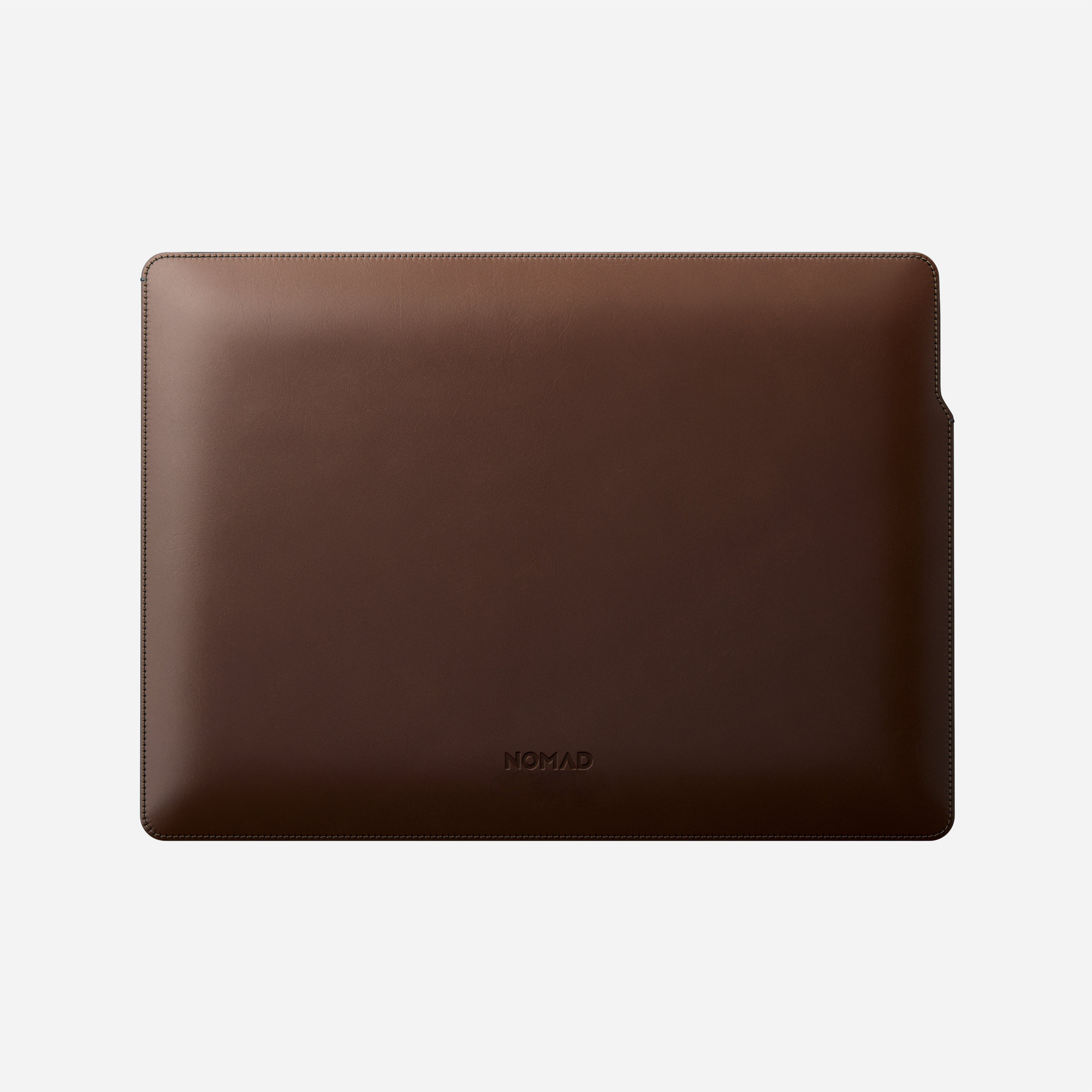 MacBook Pro Laptop Sleeve Horween Leather Front 13-inch