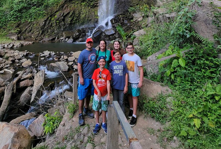 Adventures for moms with several kids.
