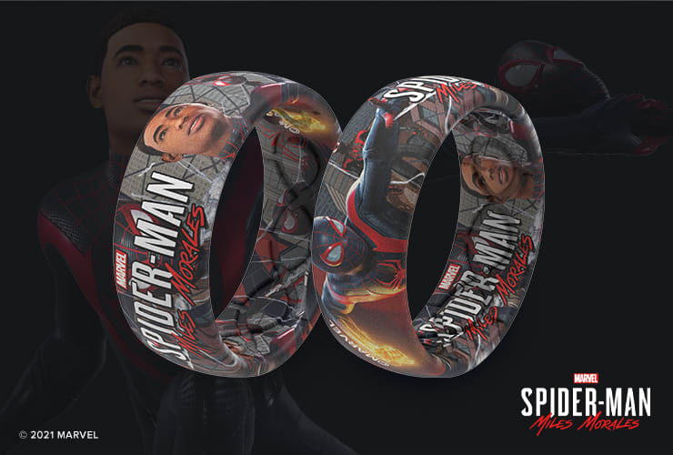 Marvel's Spider-Man Miles Morales Groove Ring