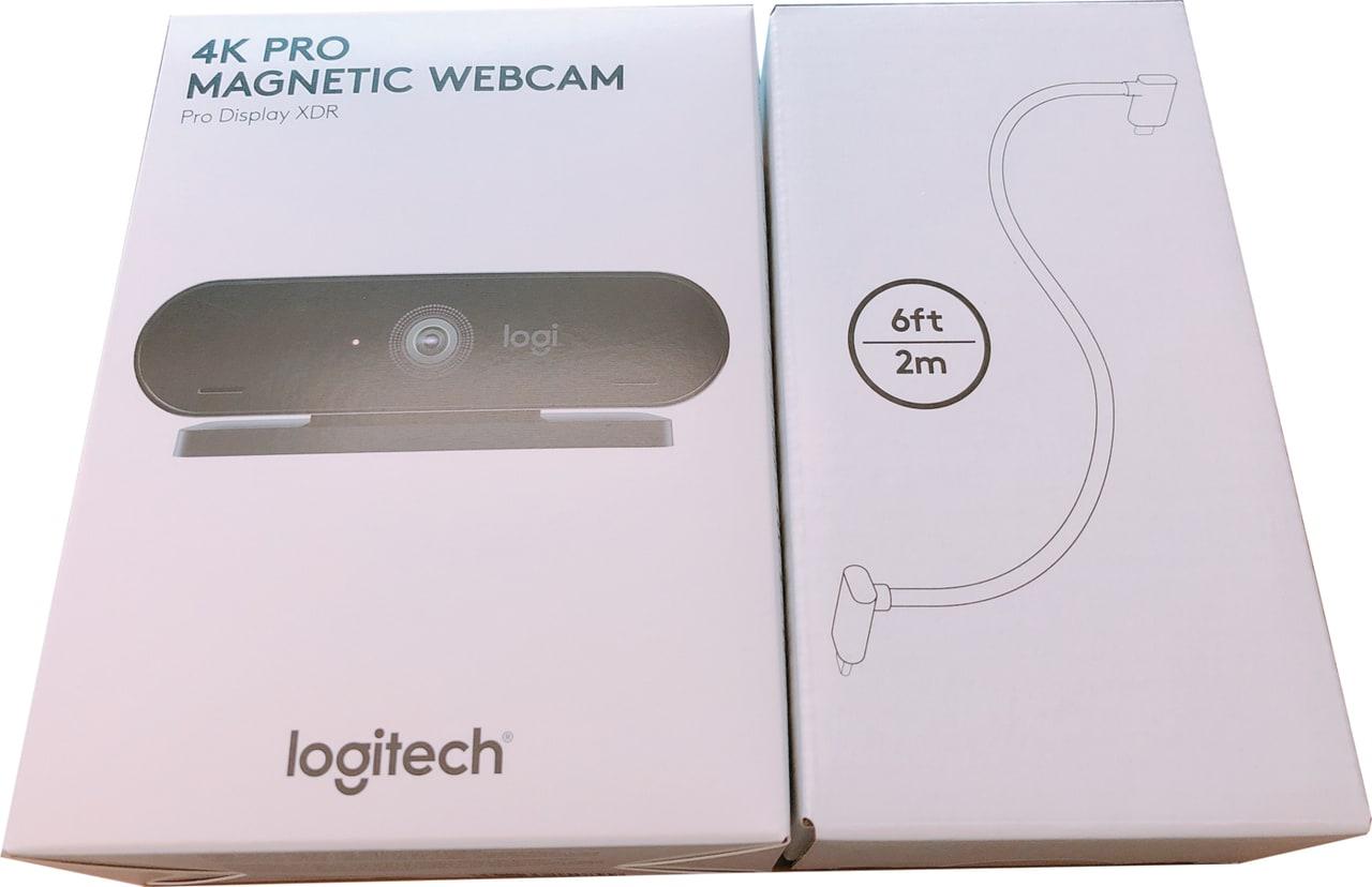 Logitech 4K Pro Magnetic Webcam Bundle for Display XDR