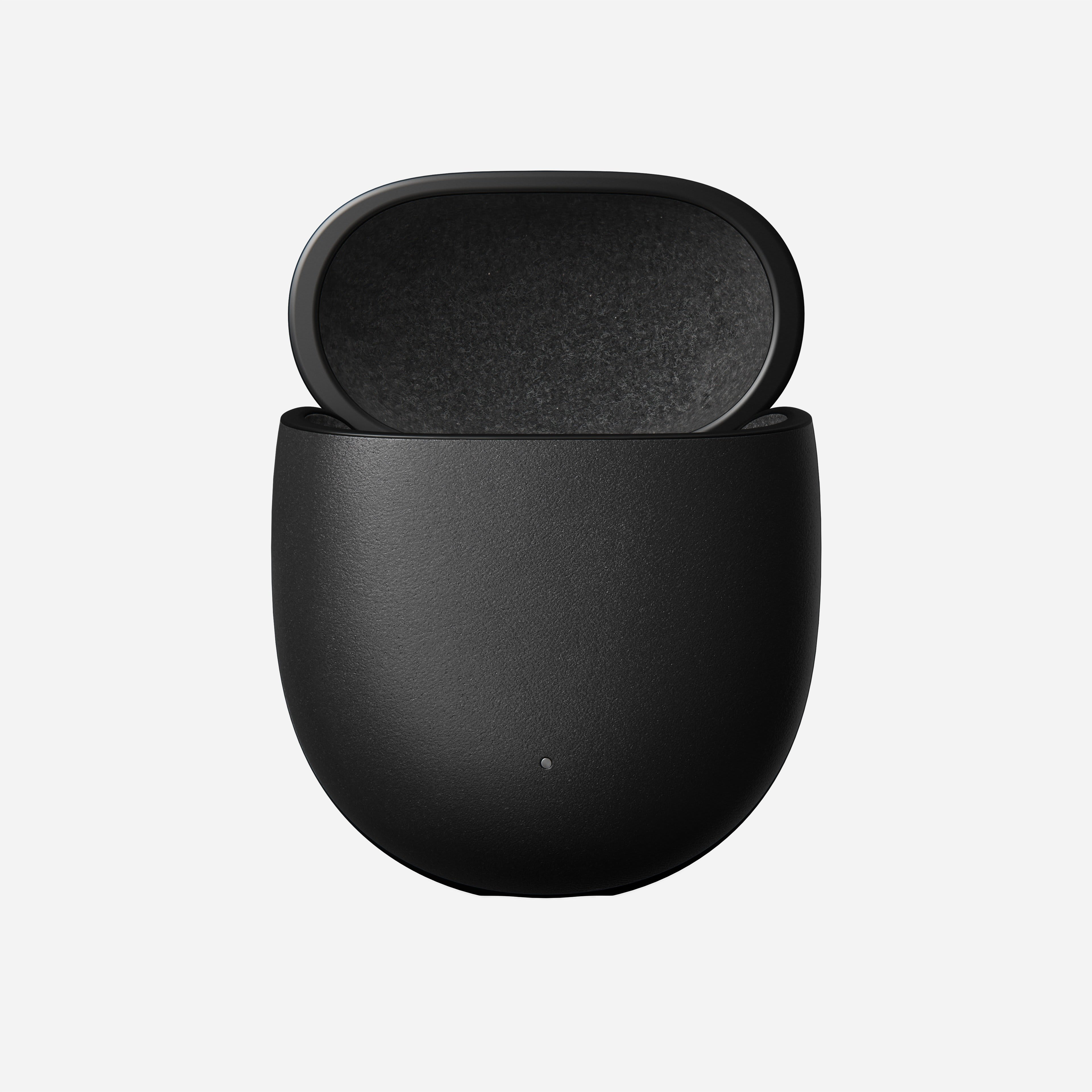 Pixel buds case black leather