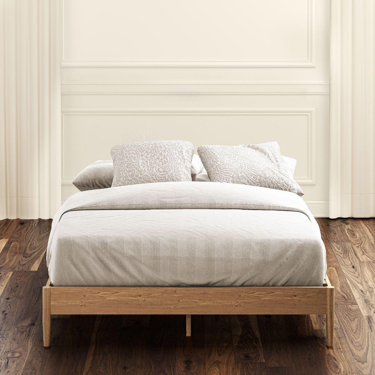 Amelia Wood Platform Bed
