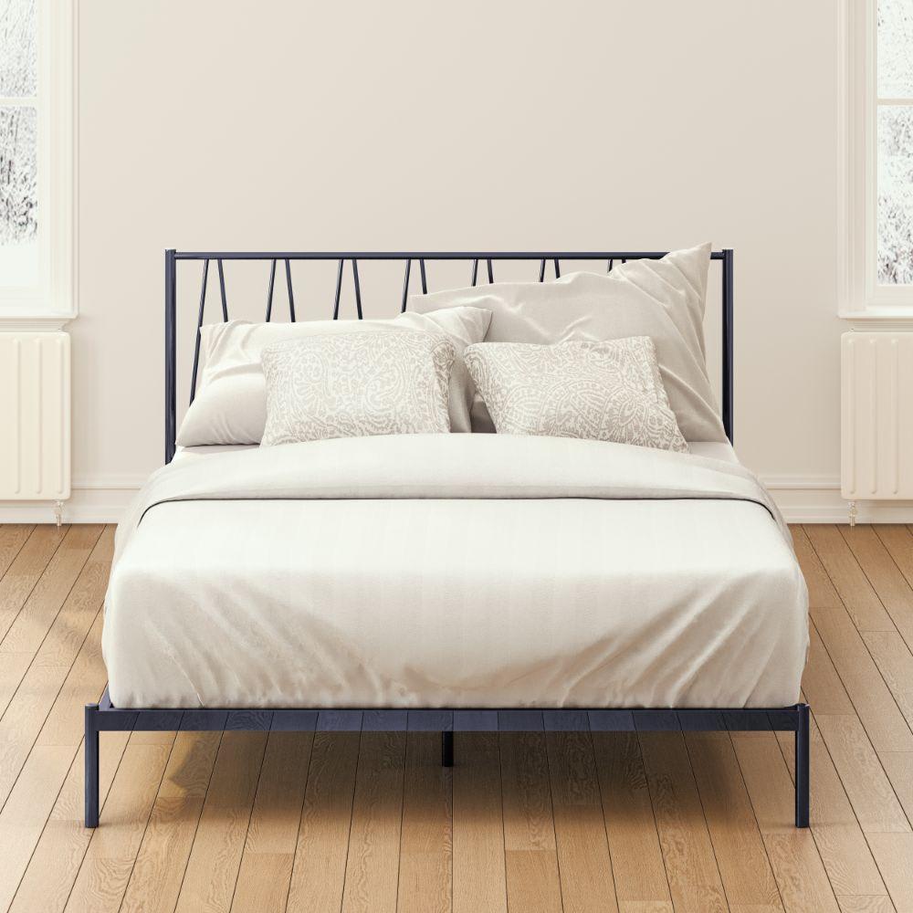 Olga Metal Platform Bed Frame