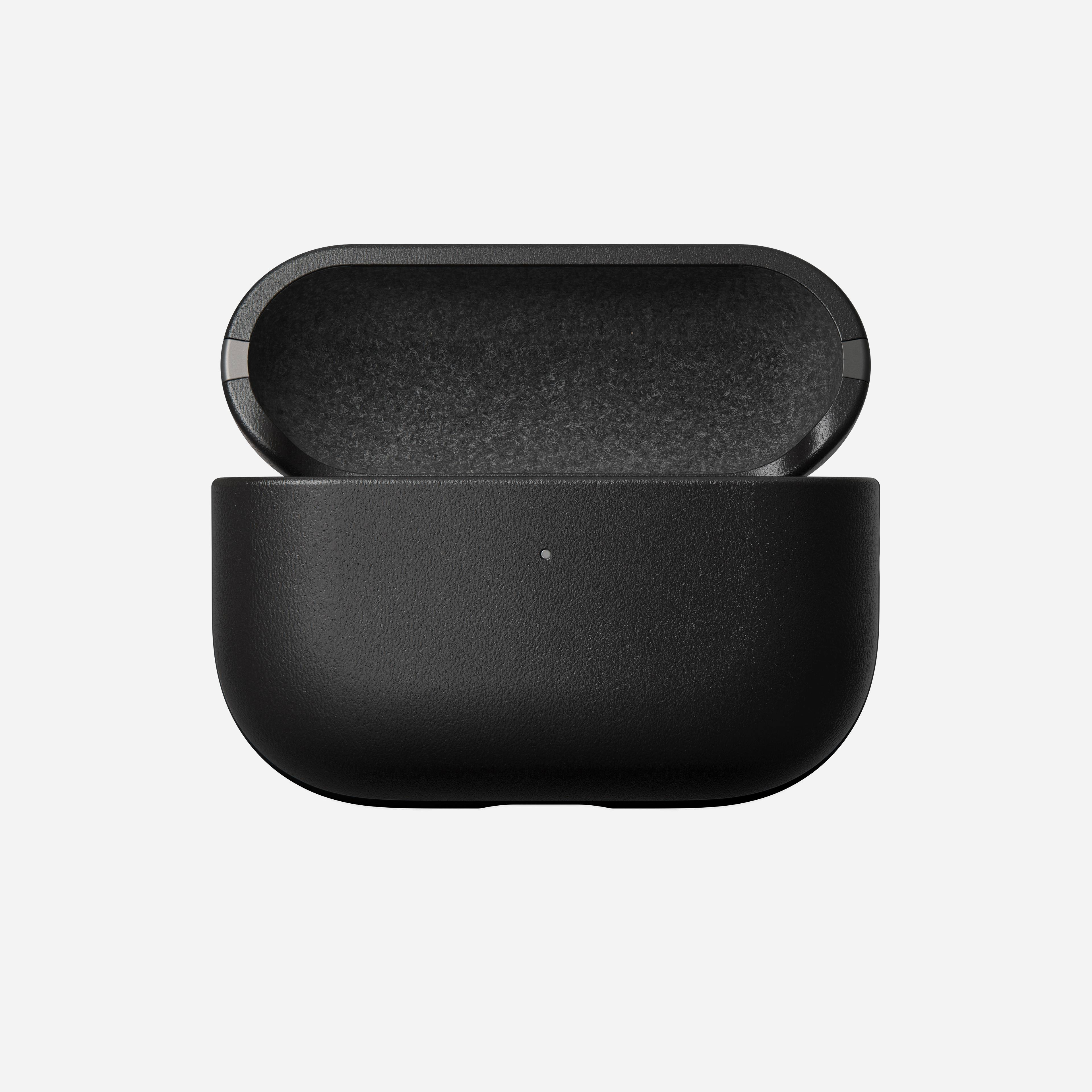 Rugged case airpods pro black leather