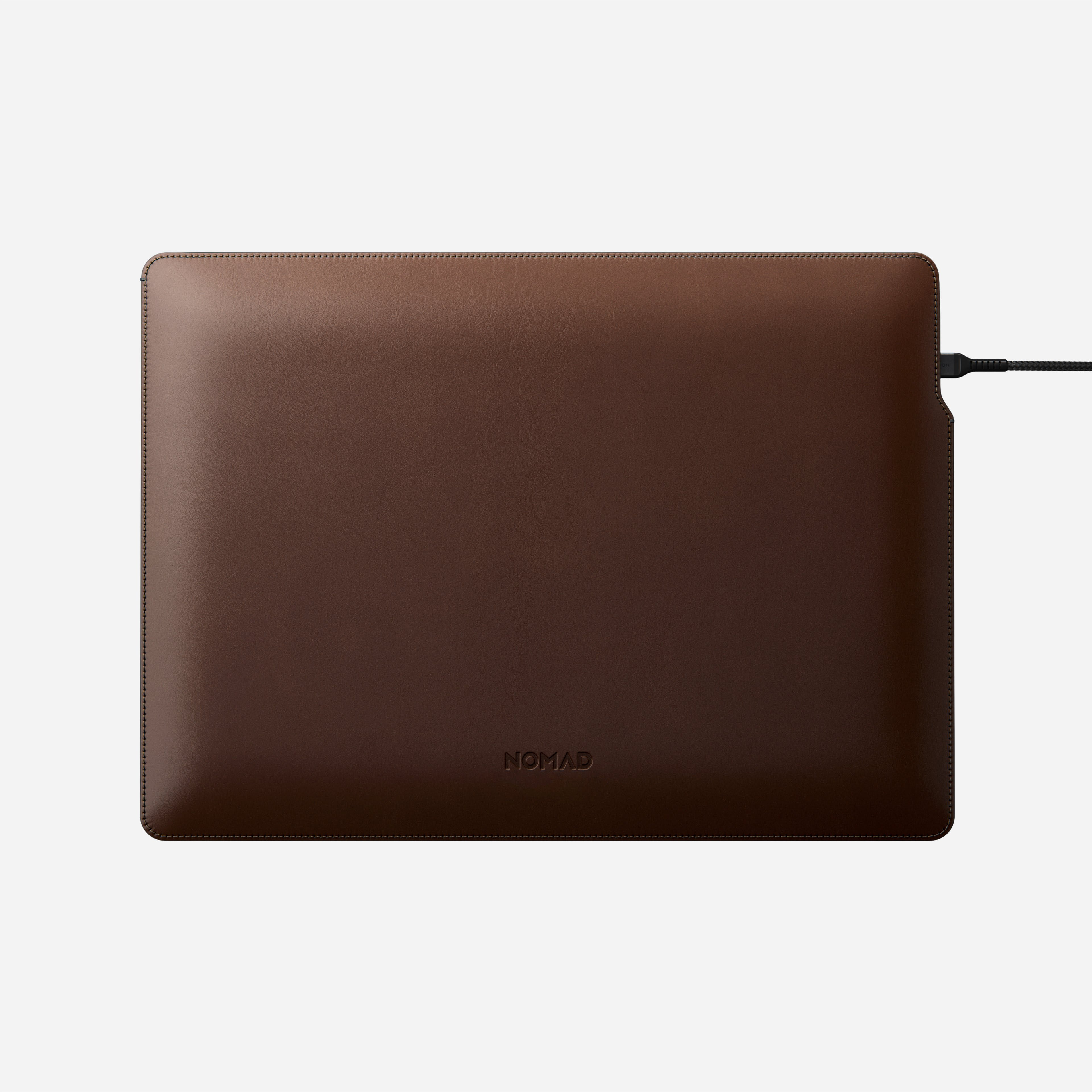 MacBook Pro Laptop Sleeve Horween Leather With Power Cord 13-inch