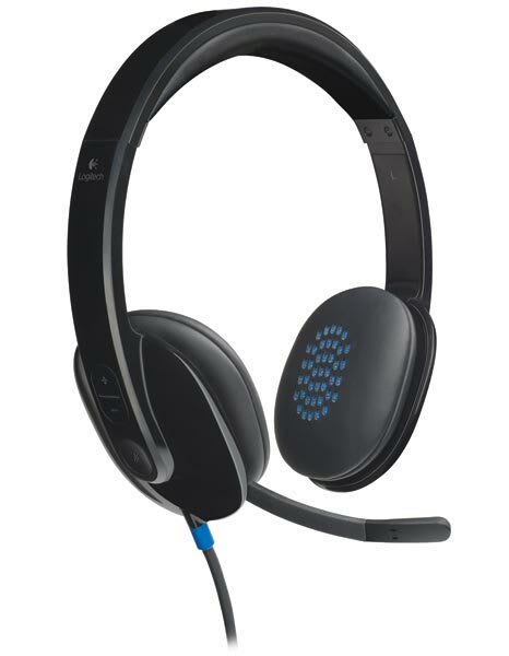 Logitech H540 Wired USB Headset with Microphone