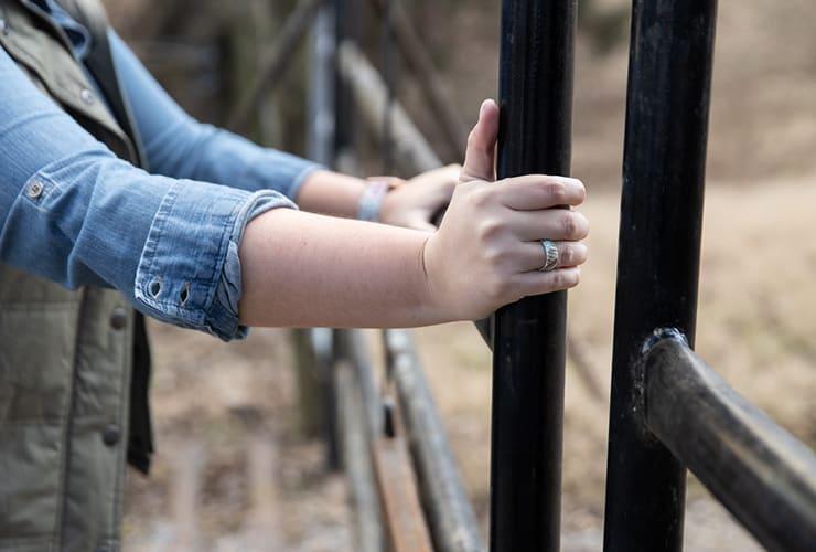 Brave - Katie Van Slyke Signature Groove Ring