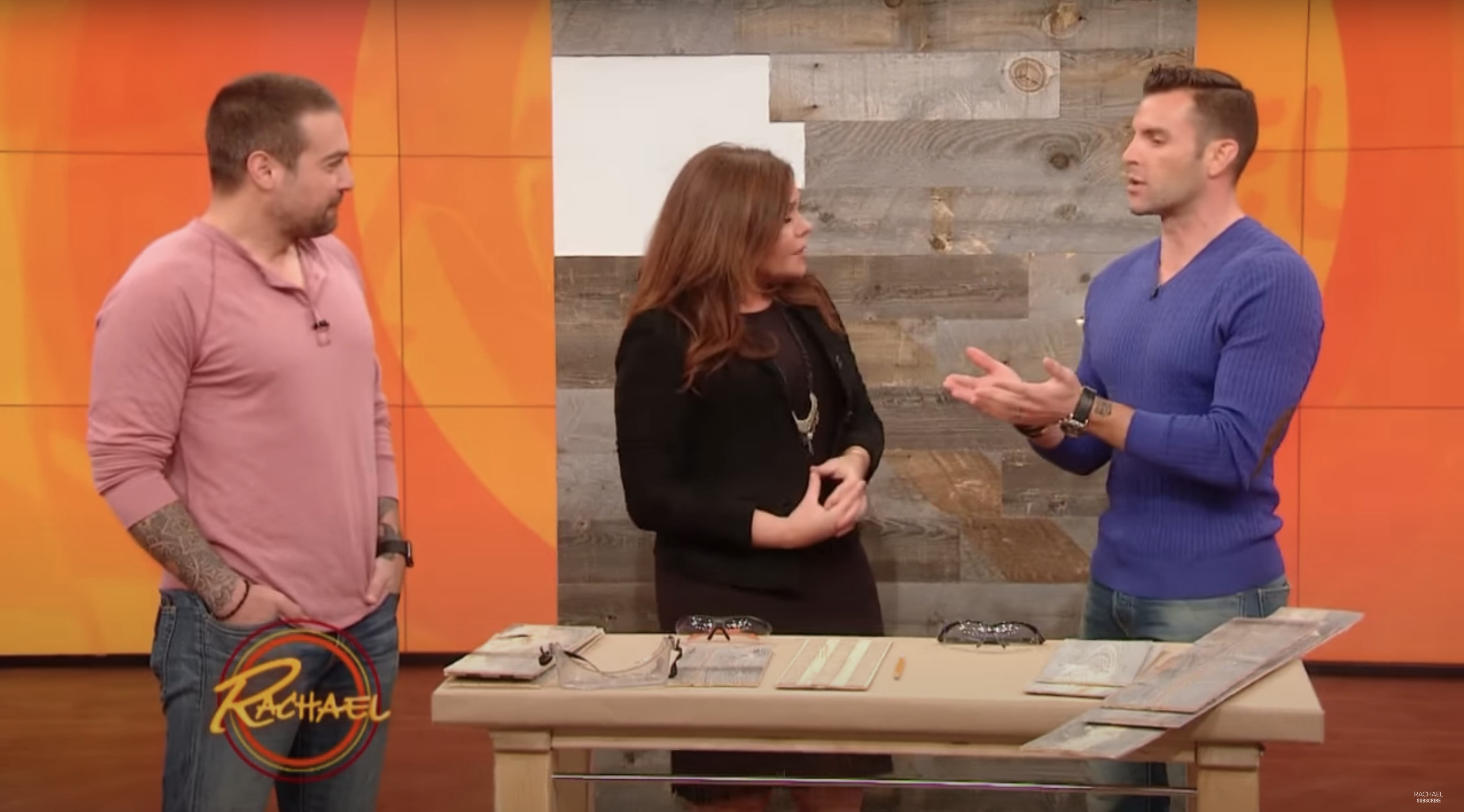 Stikwood and the cousins featured on rachael ray show