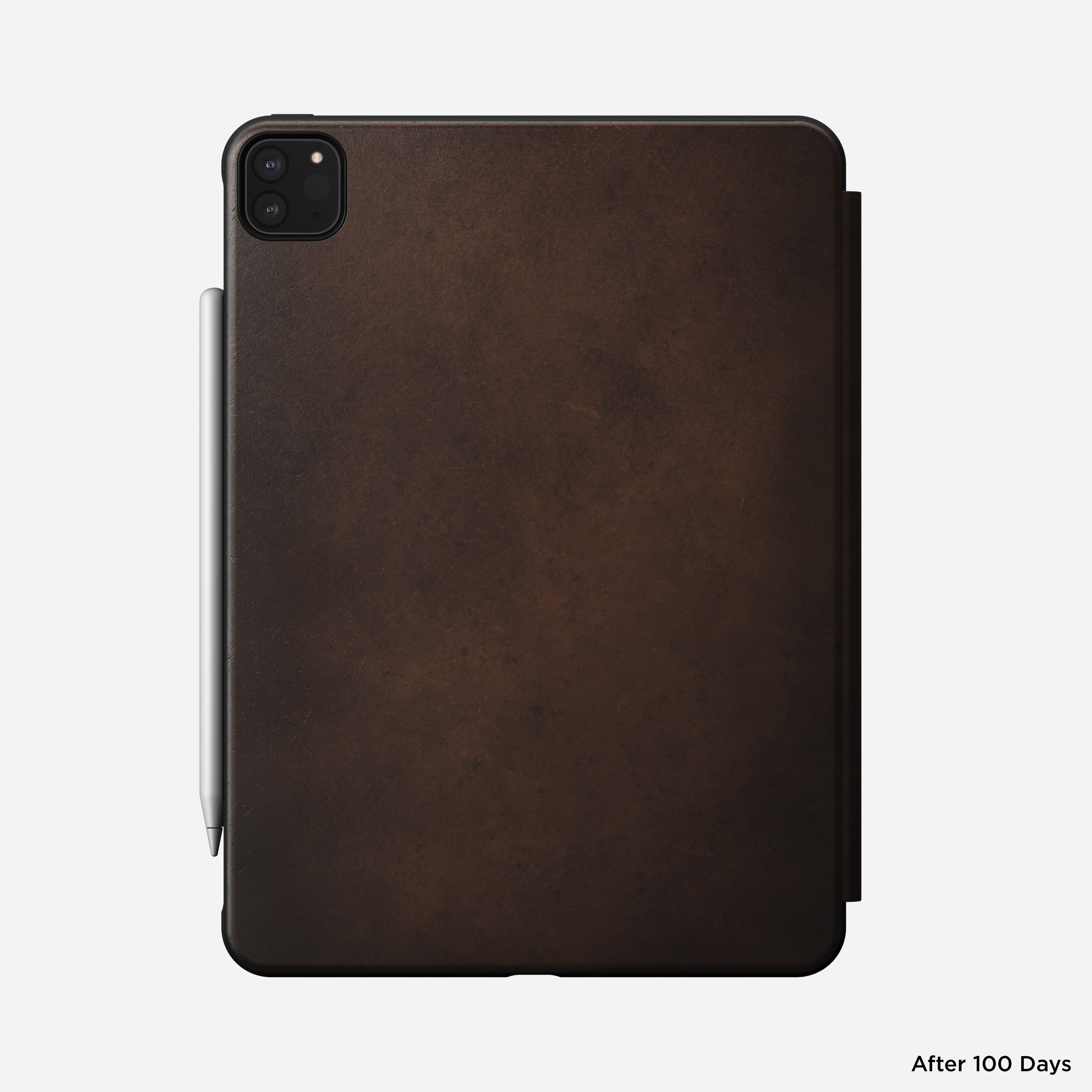 Rugged folio horween leather rustic brown ipad pro 11 inch 2nd generation