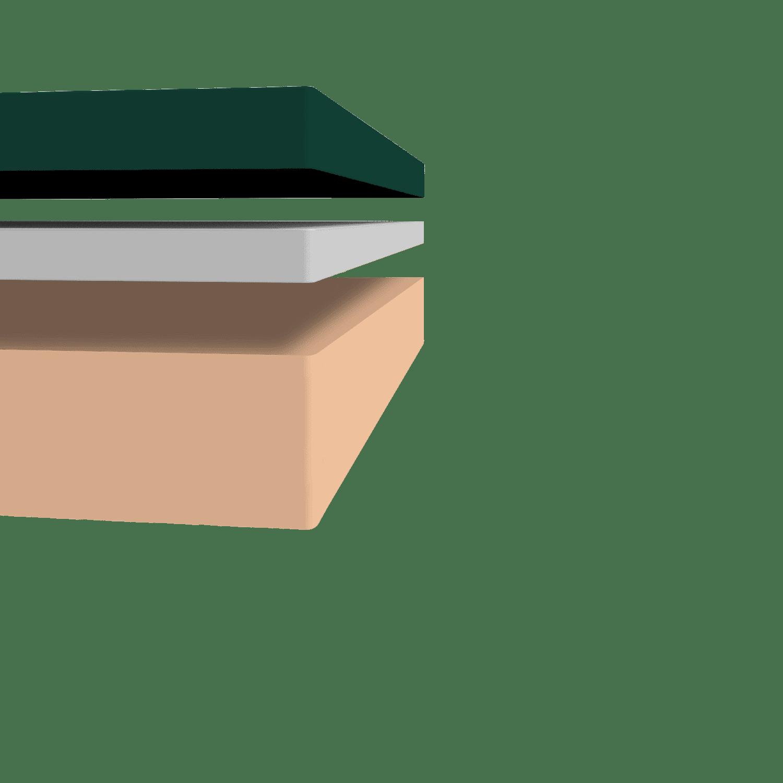 Zinus Green Tea Mattress Layers