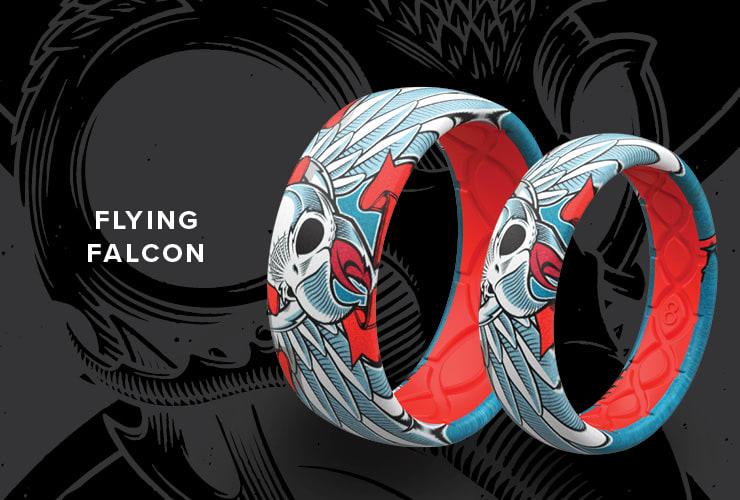 Tony Hawk Flying Falcon rings