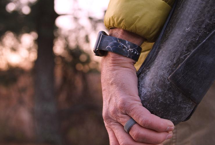 Watch band and Groove Ring