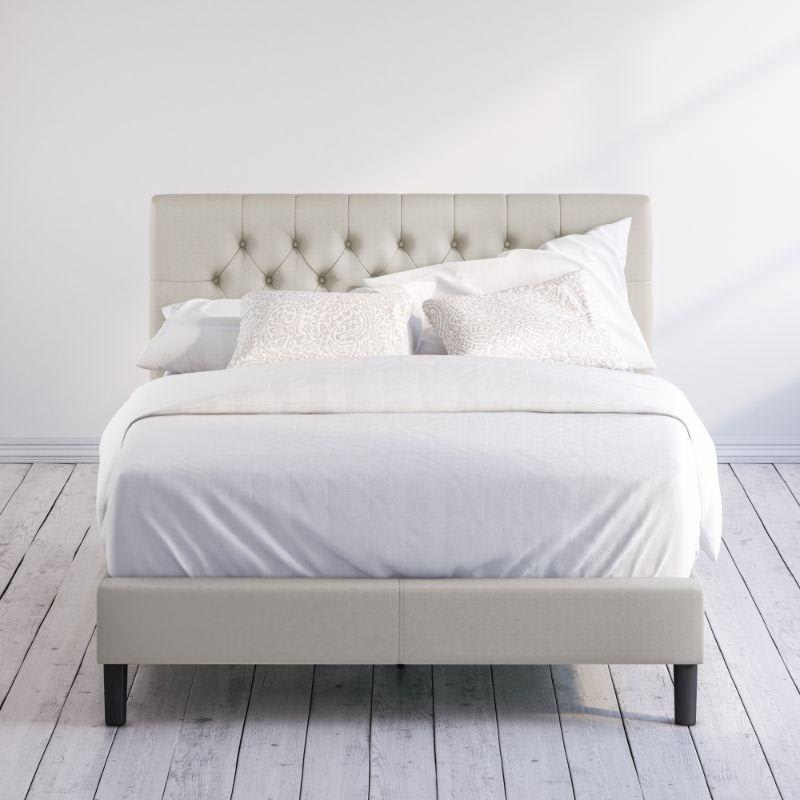 Misty upholstered Platform bed frame