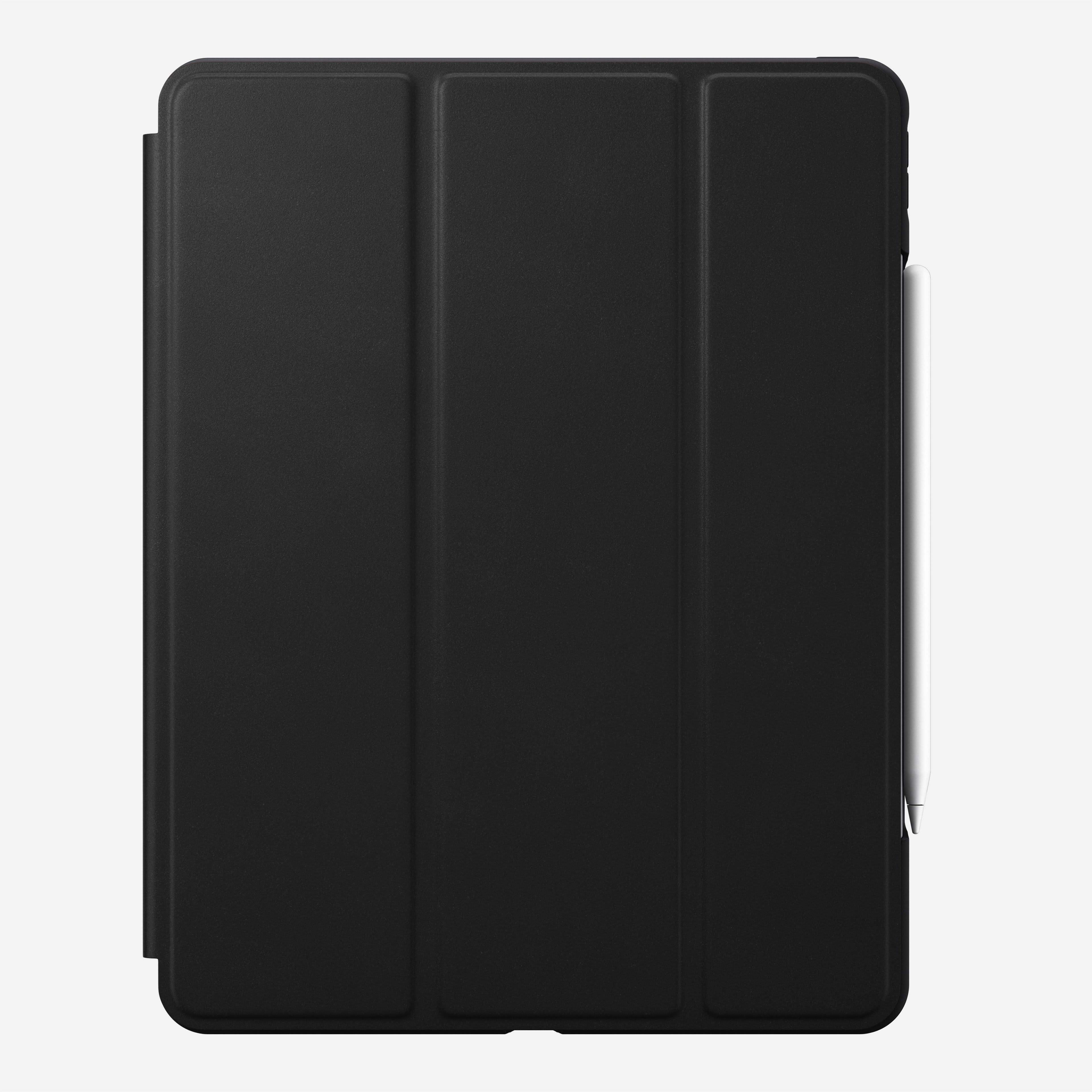 Rugged folio horween leather black ipad pro 12 9 inch 4th generation
