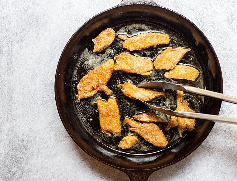 Original Daring Pieces in Frying Pan