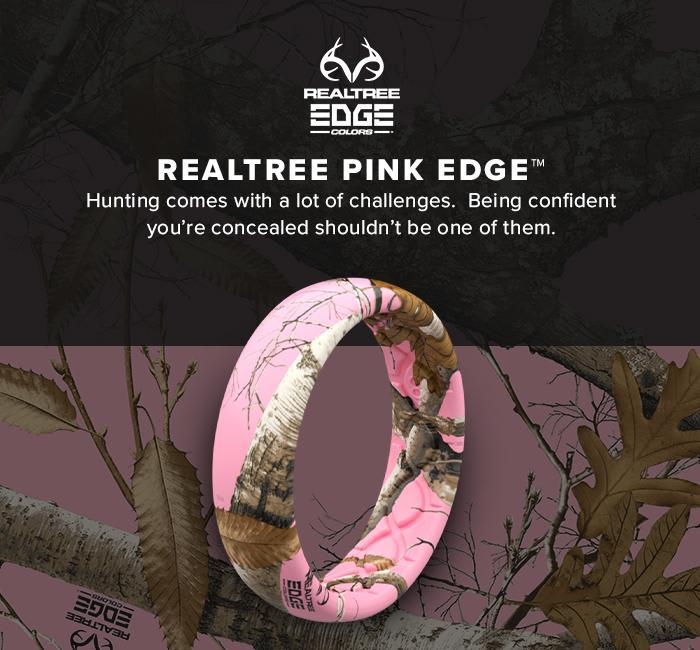 REALTREE EDGE PINK RING
