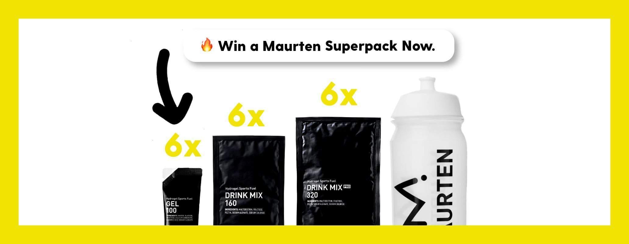 🔥Win 1 of 25 Maurten Superpacks