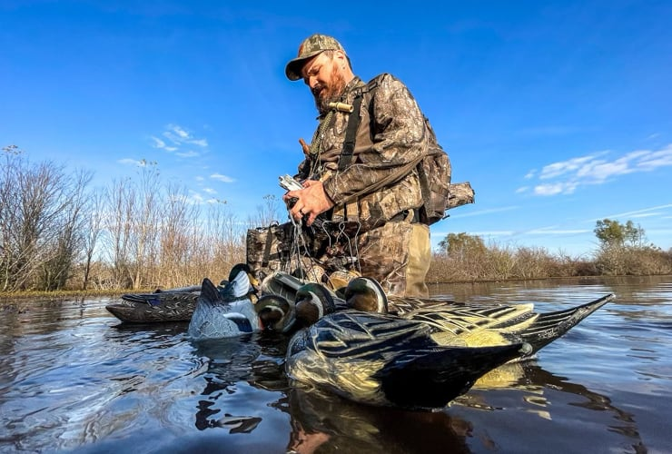 Justin Martin collection all his decoys