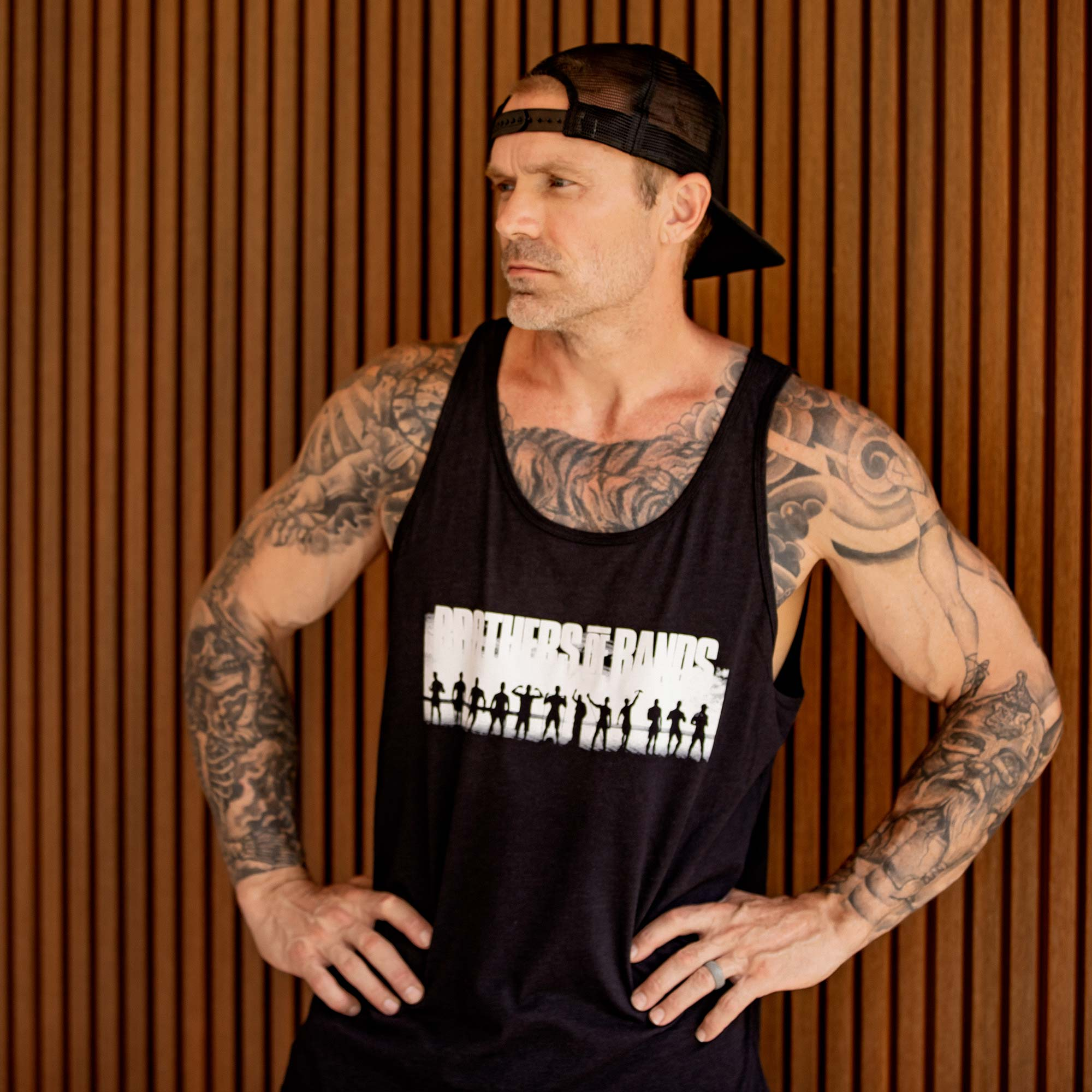 """Undersun Unisex """"Brothers of Bands"""" Tank"""