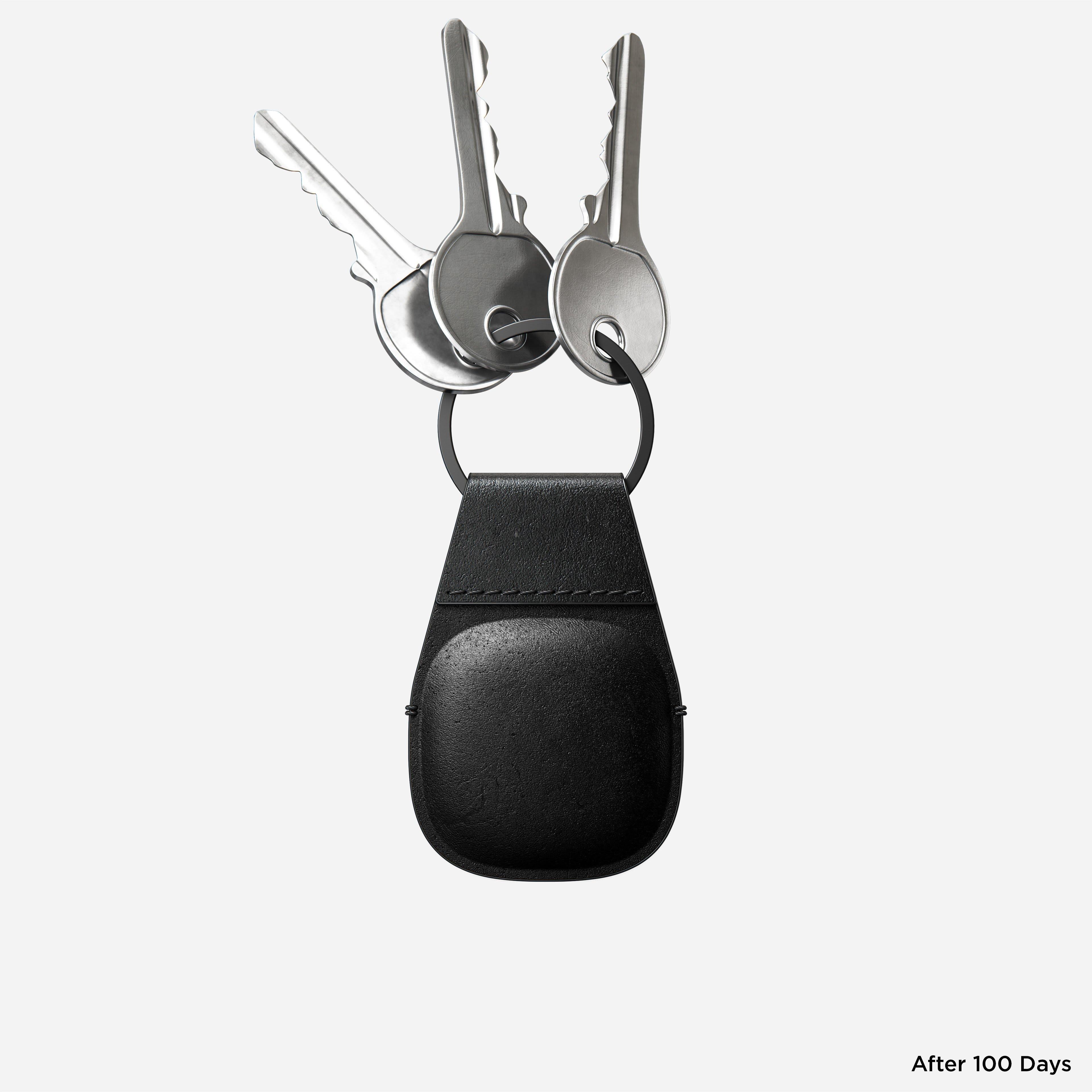 Nomad AirTag keychain