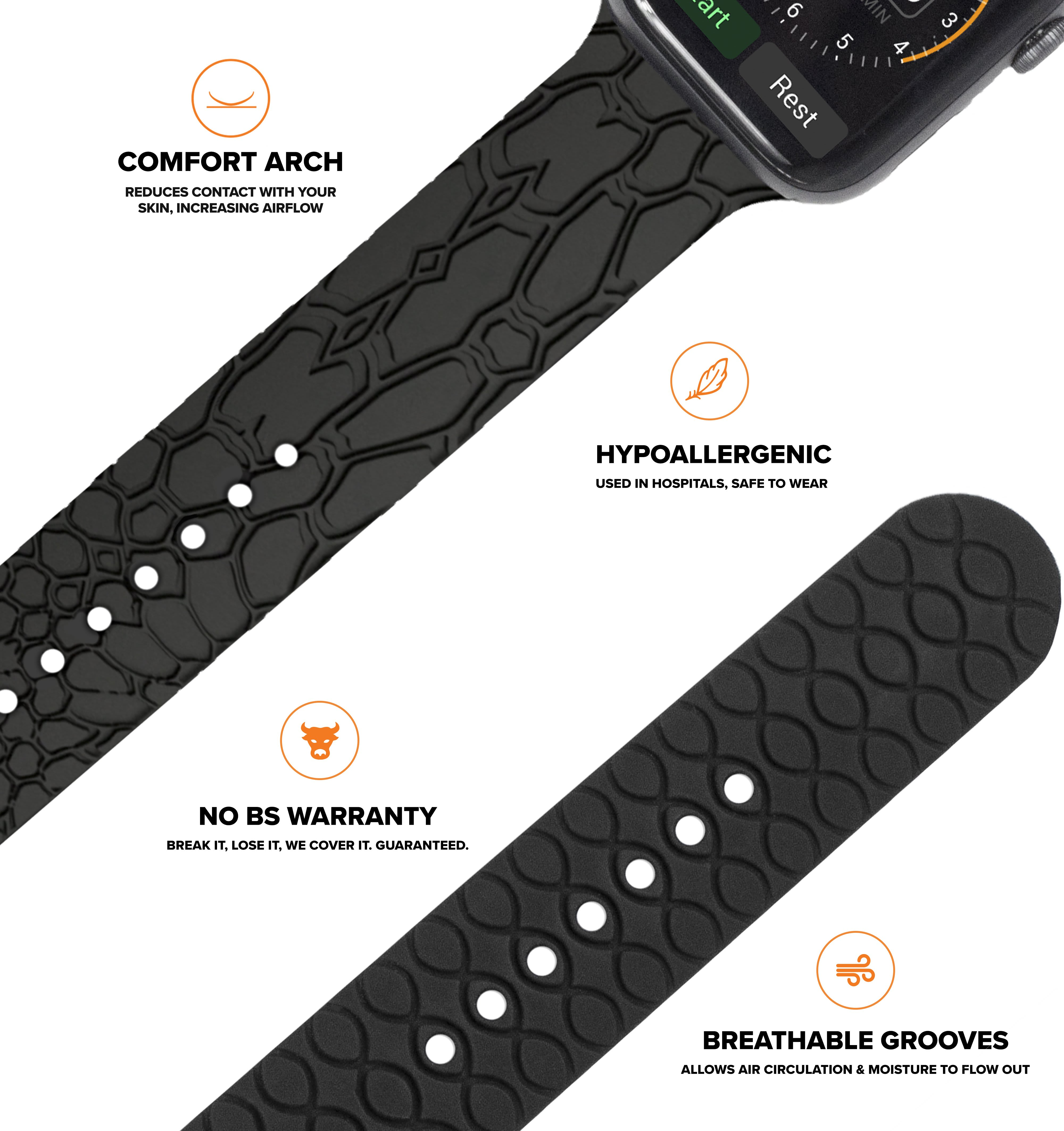 The Most Comfortable Apple Watch Band
