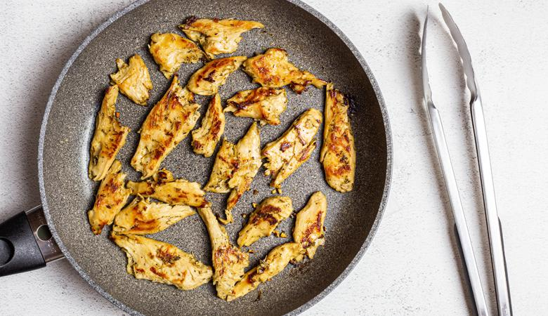 Daring lemon and herb plant based chicken pieces