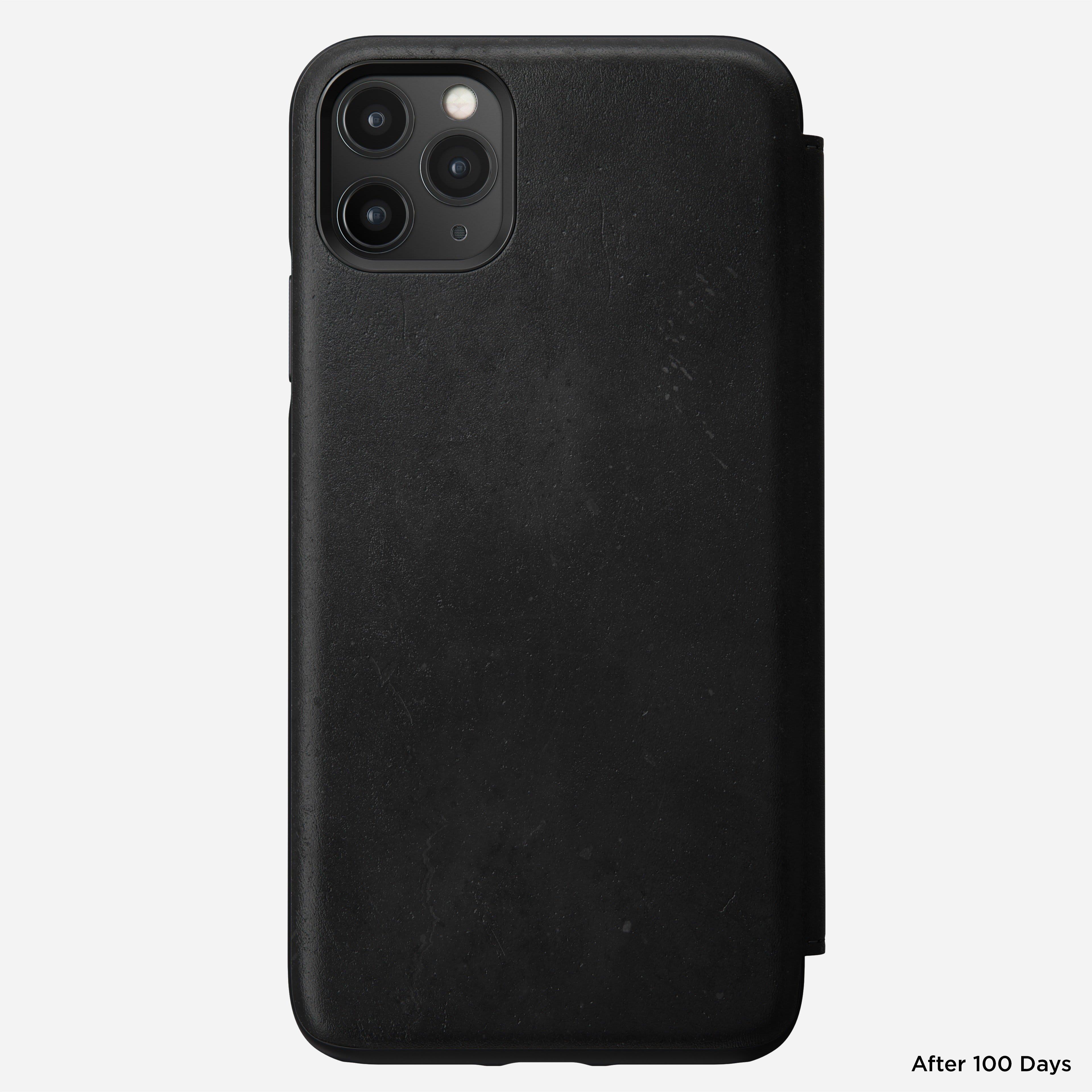 Rugged tri folio black iphone 11 pro max