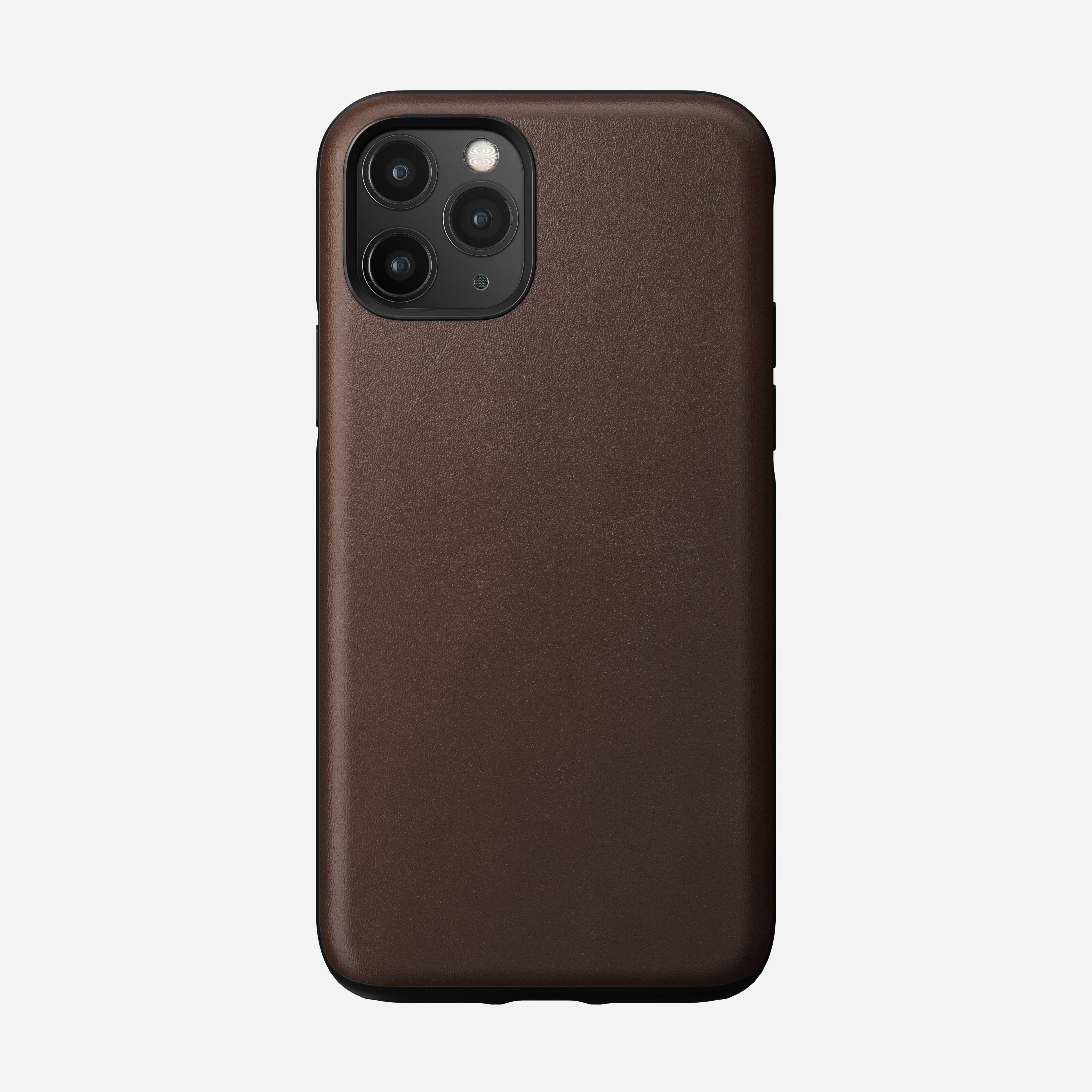 Rugged case rustic brown iphone 11 pro