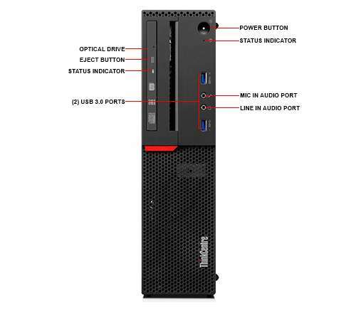 Lenovo M800 SFF 6th Gen i5-6400 Windows 10 Pro Computer