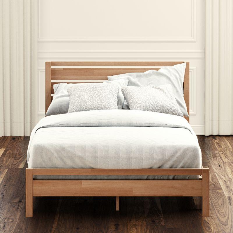 Aimee Wood Platform bed frame