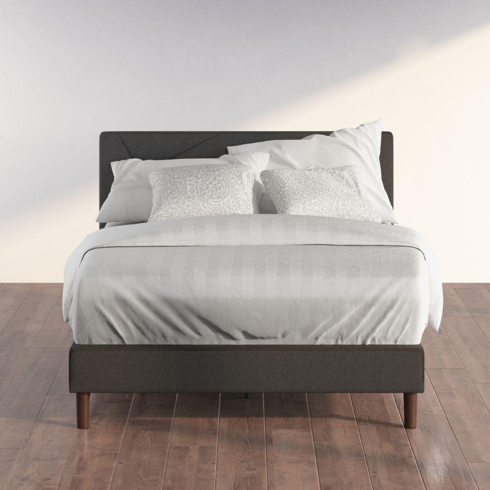 Judy upholstered Platform Bed frame(1)