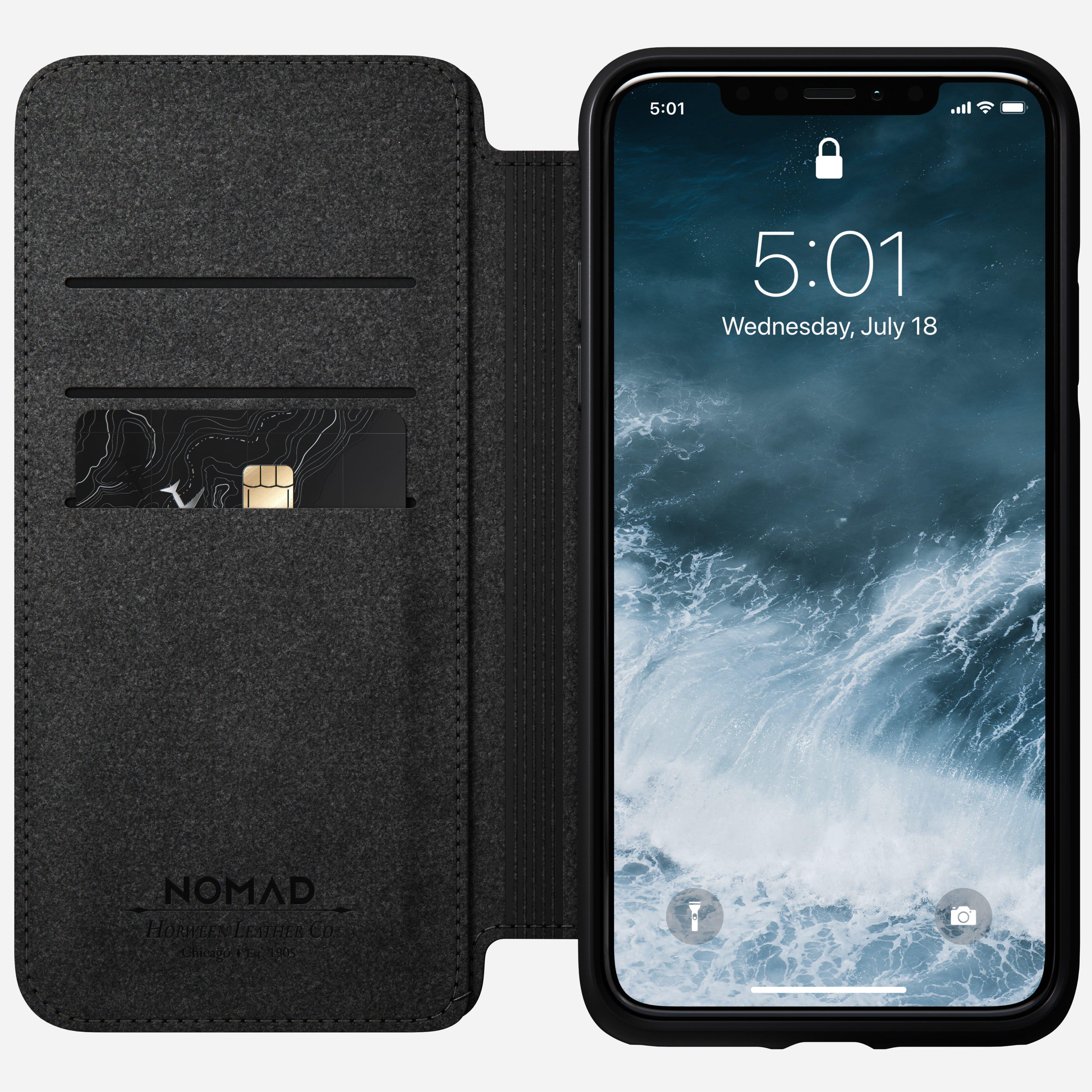 Rugged folio rustic brown iphone 11 pro max
