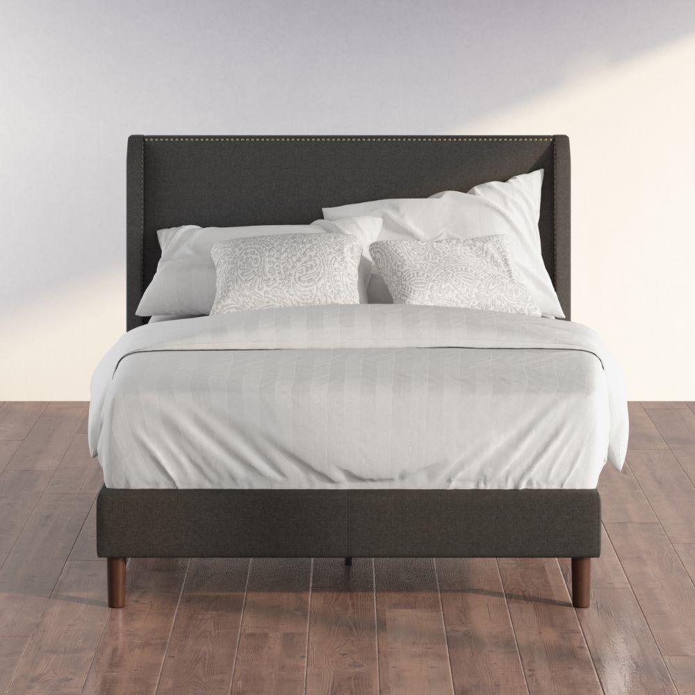 Marcus upholstered Platform Bed