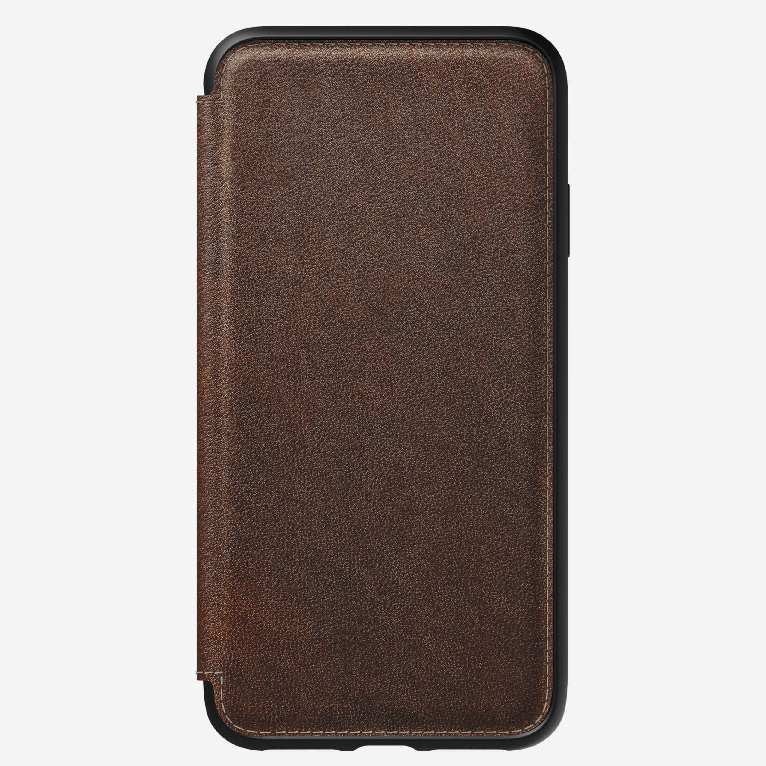 Rugged folio rustic brown xs max