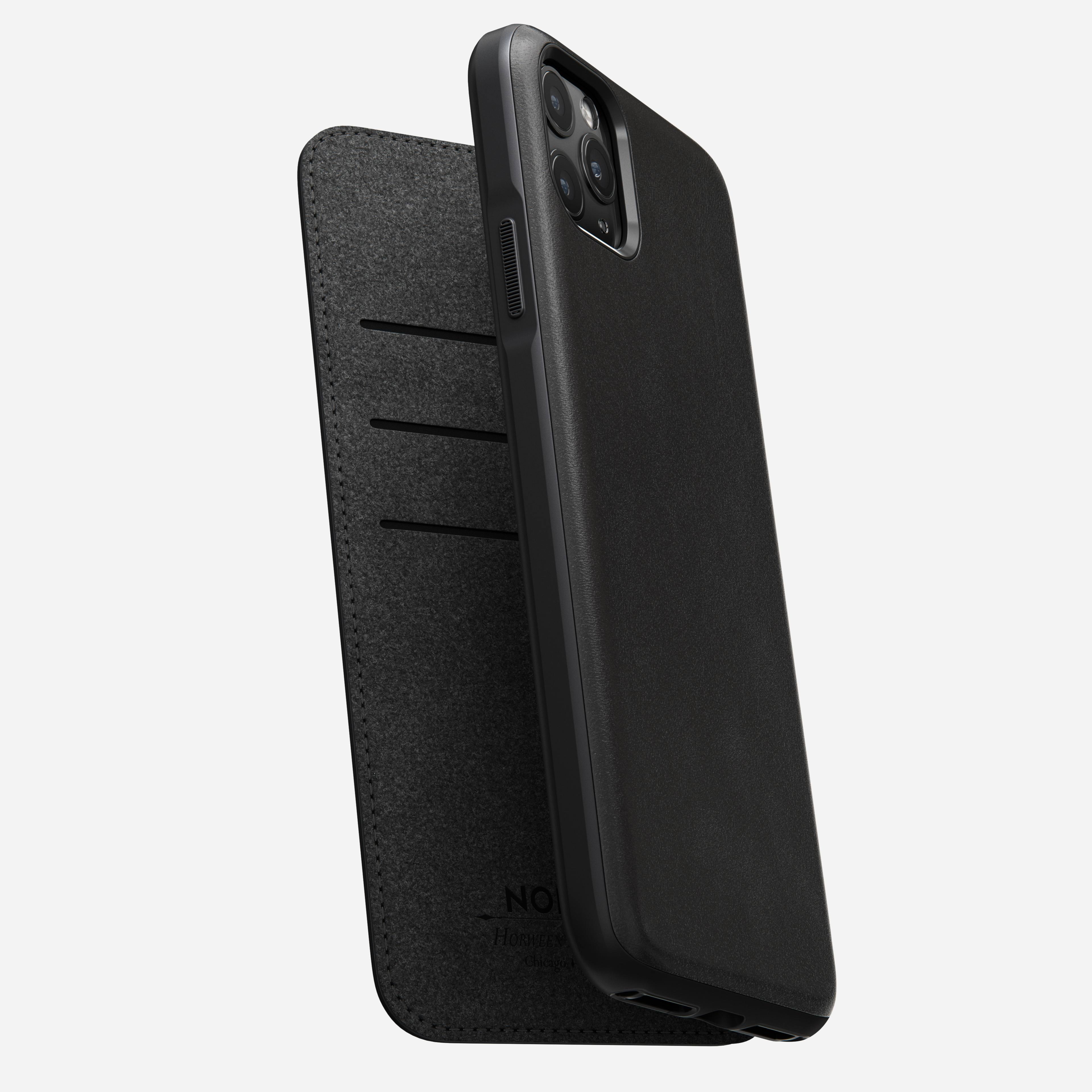 Rugged folio black iphone 11 pro max