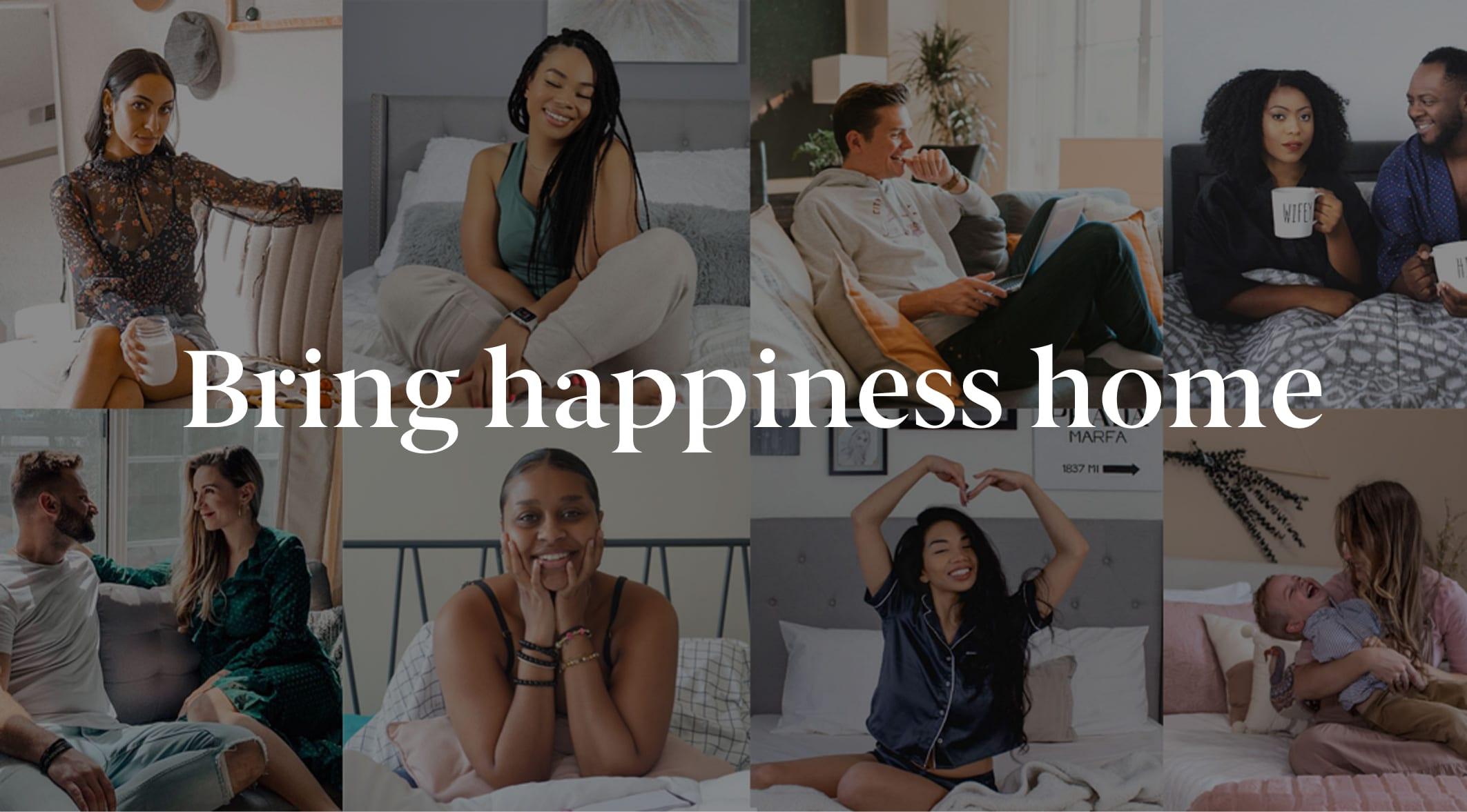 Bring happiness home