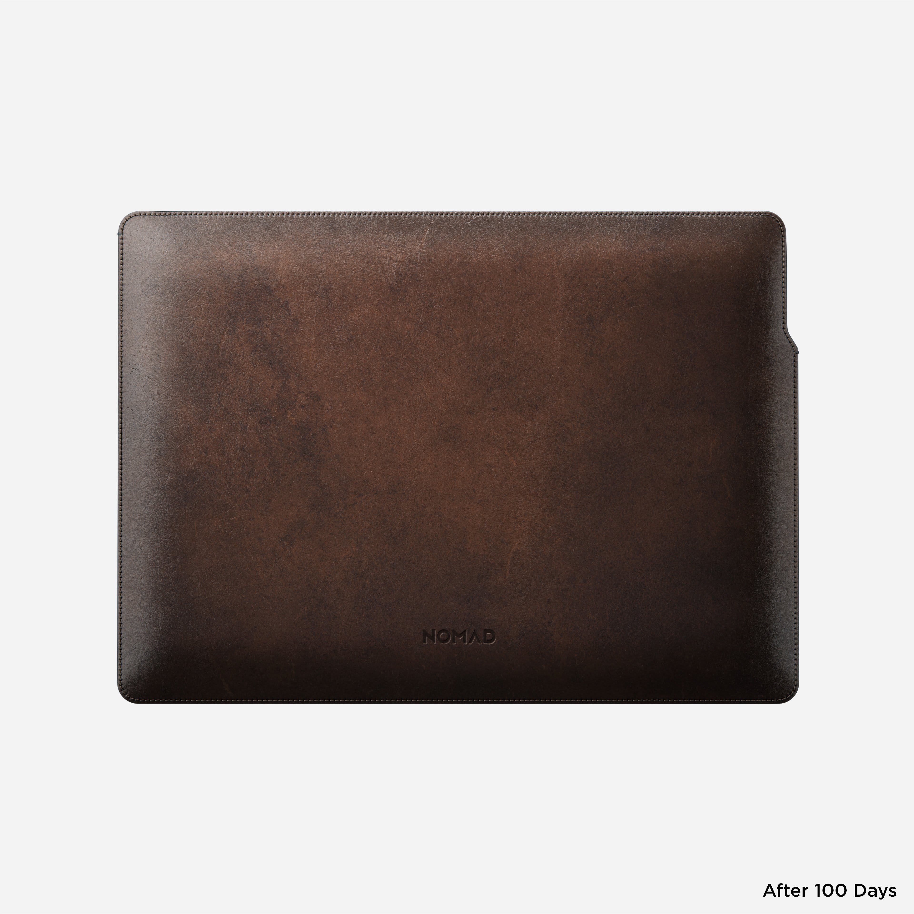 MacBook Pro Laptop Sleeve Horween Leather Back 13-inch