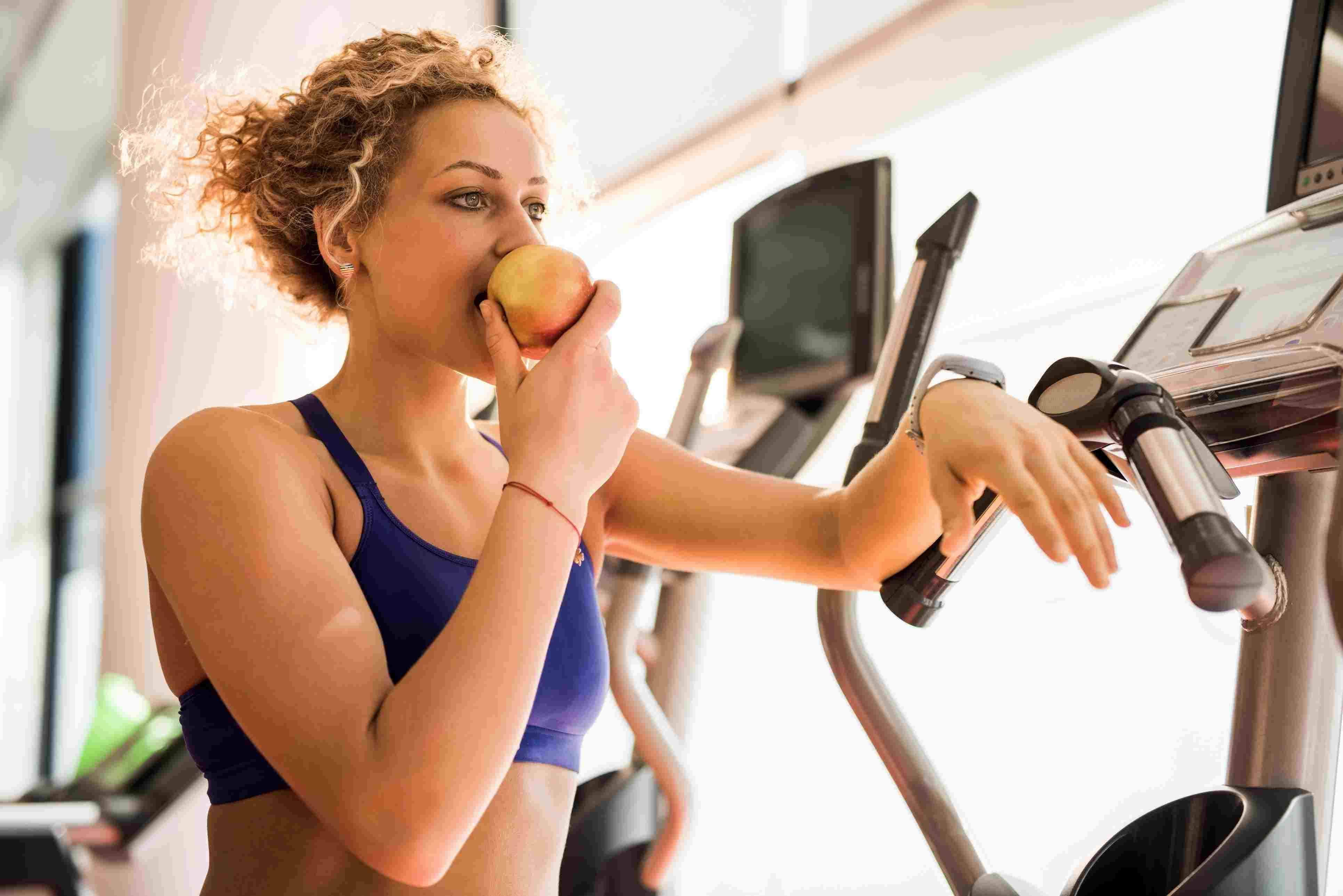 Overeating during exercise: How much is too much?