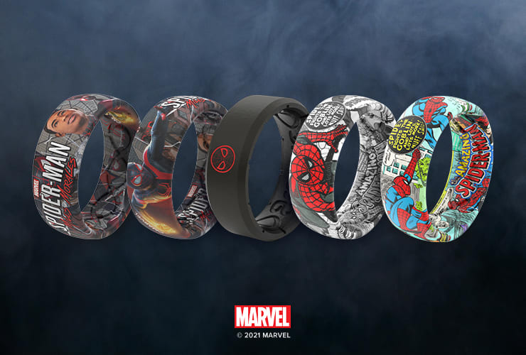 Miles Morales Silicone Breathable Ring