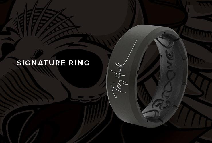 Tony Hawk Signature ring