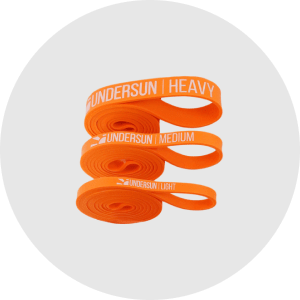 3 Undersun Resistance Bands