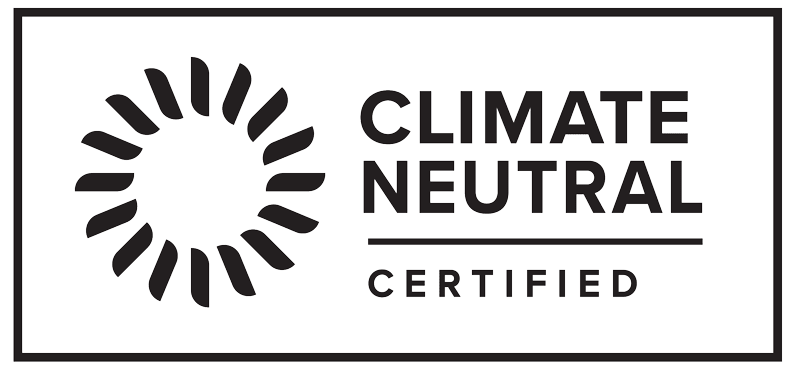 Climate Neutral Certified.